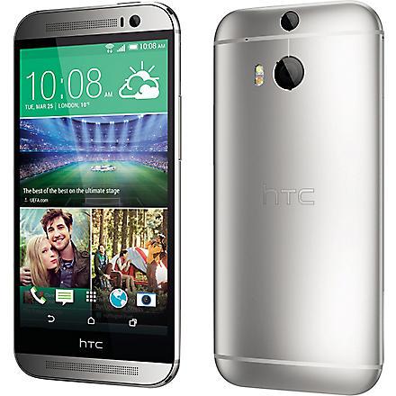 HTC HTC One M8 smartphone M8, Silver (Silver