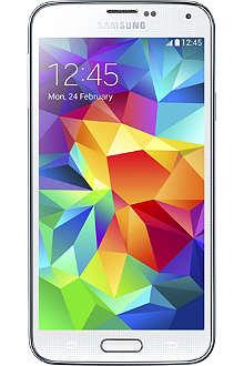 SAMSUNG Samsung Galaxy S5 smartphone, White