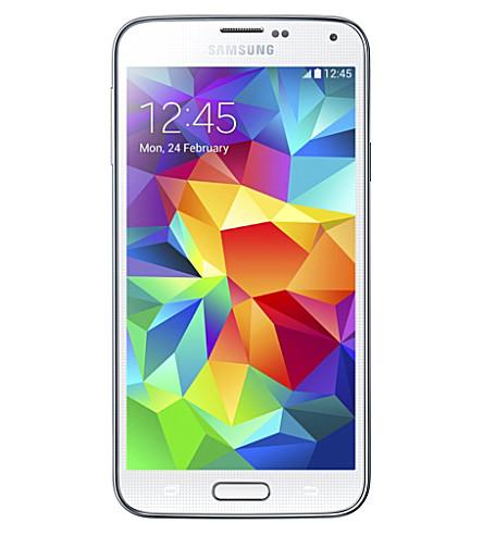 SAMSUNG Samsung Galaxy S5 smartphone, White (White