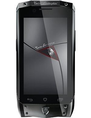 TONINO LAMBORGHINI TL-66 black with black leather smartphone