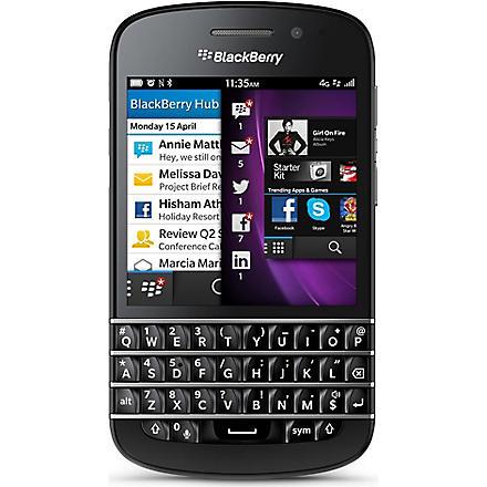 BLACKBERRY BlackBerry Q10 smartphone
