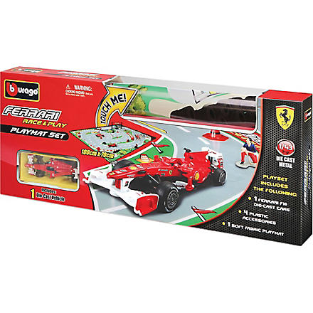 BURAGO Race & Play playmat set