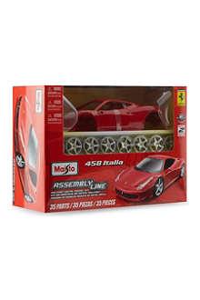 BURAGO Ferrari 458 Italia assembly line