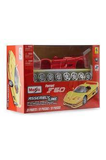 BURAGO Ferrari F50 assembly line
