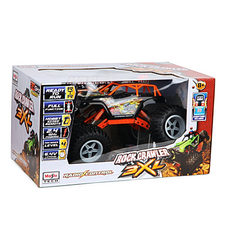 MAISTO Rock Crawler 3XL radio-controlled vehicle