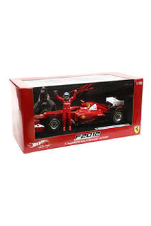 HOTWHEELS Ferrari F2012 Fernando Alonso scale model
