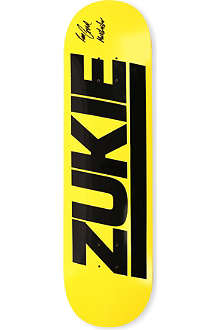 THIRD FOOT Zukie logo skateboard deck 8.5