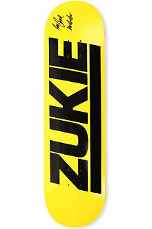 THIRD FOOT Zukie logo skateboard deck 8