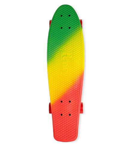 PENNY BOARDS Jammin' Painted Fades skateboard