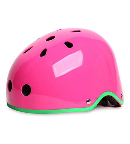 MICRO SCOOTER Small glossy helmet (Neon+pink