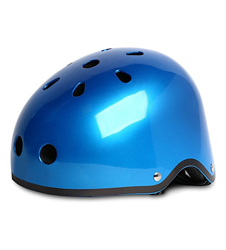 MICRO SCOOTER Small glossy helmet (Metallic+blue