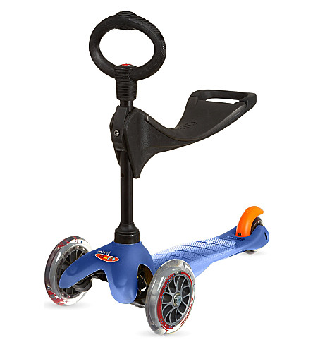MICRO SCOOTER Mini three-in-one scooter (Blue