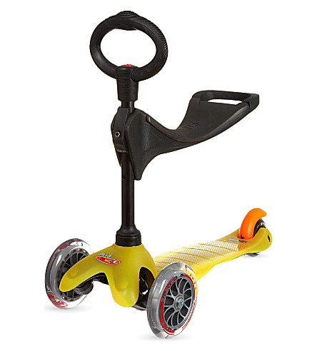 MICRO SCOOTER 3-in-1 scooter (Yellow