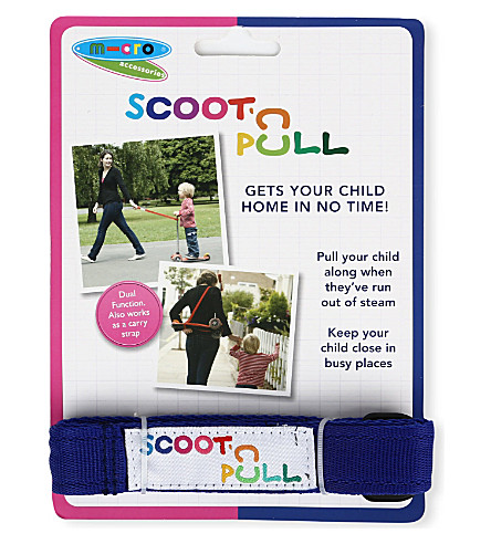 MICRO SCOOTER Scoot 'n pull (Blue