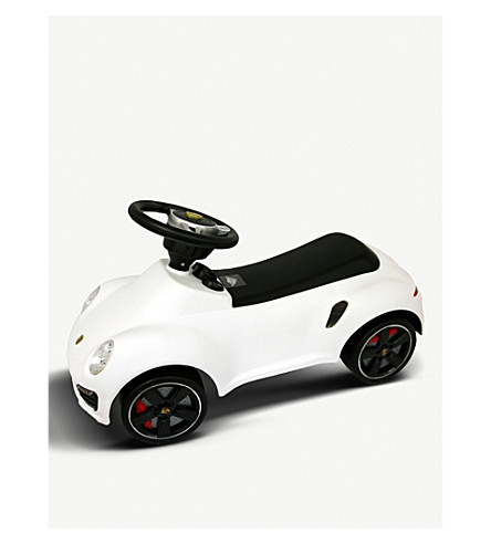 FLYING GADGETS Porshe cayenne ride-on car (White