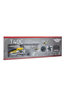 FLYING GADGETS T40C 3-channel helicopter with camera