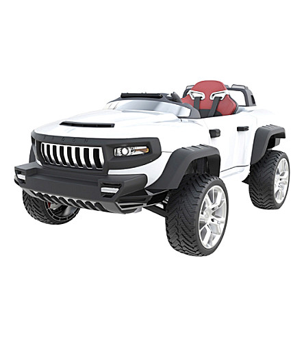 FLYING GADGETS Henes' Broon T870 ride-on car (White