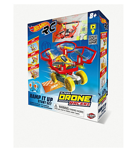 HOTWHEELS RC Bladez Drone Racerz Drone & Vehicle Set