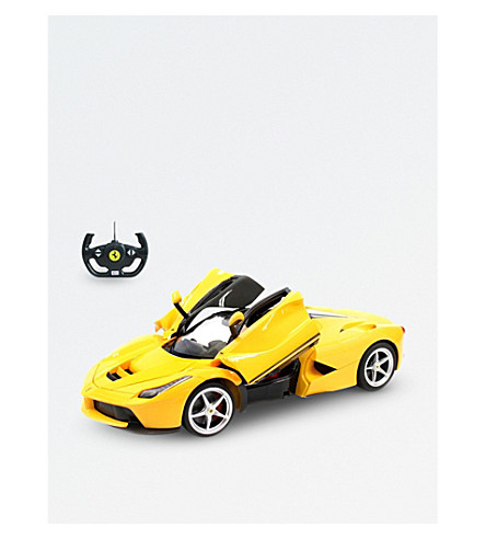 RASTAR La Ferrari radio-controlled car (Yellow