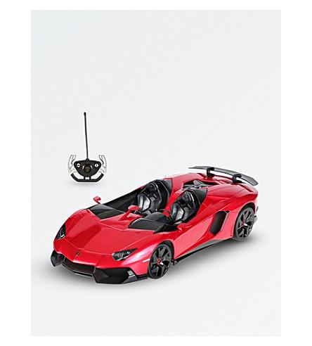 RASTAR 兰博基尼 Aventador 无线电遥控车 (红