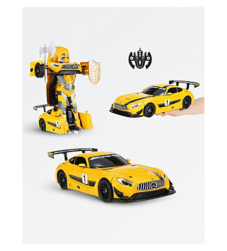 RASTAR Mercedes Benz GT3 radio-controlled car and robot (Yellow