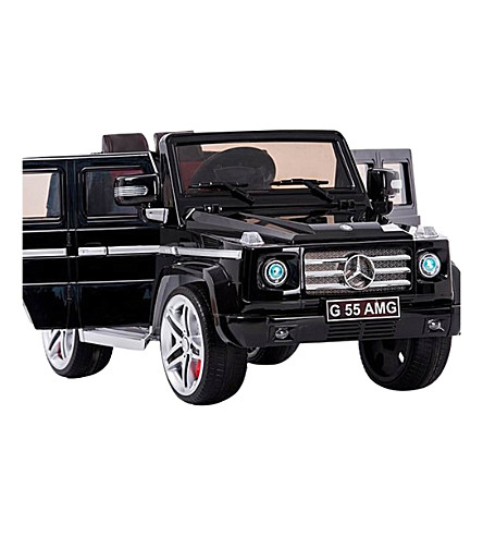 SMARTWAY Licensed Mercedes G55 12v Electric Ride on Jeep with Remote