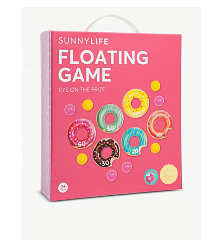 SUNNYLIFE Inflatable PVC doughnut game