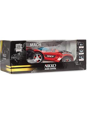 NIKKO Mach radio controlled car