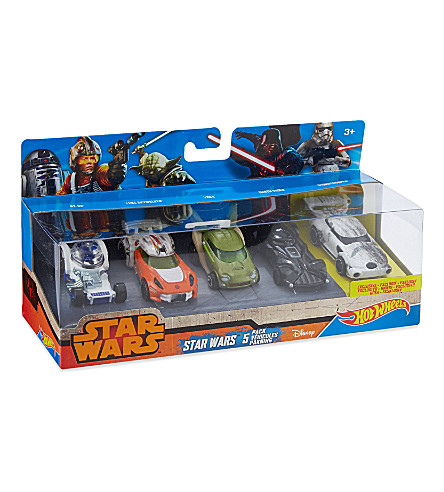 HOT WHEELS Star Wars vehicles five-pack