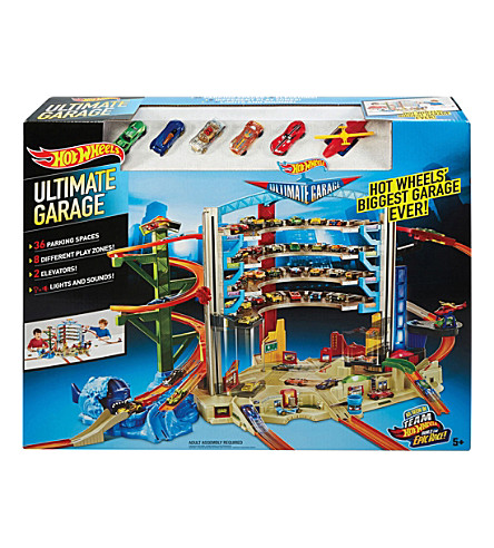 HOTWHEELS Ultimate Garage playset