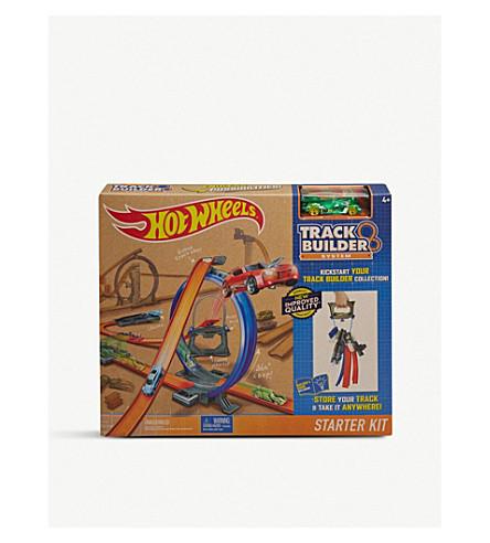 HOTWHEELS Hotwheels track builder starter set