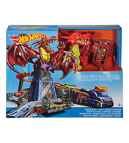 HOTWHEELS Dragon Blast playset