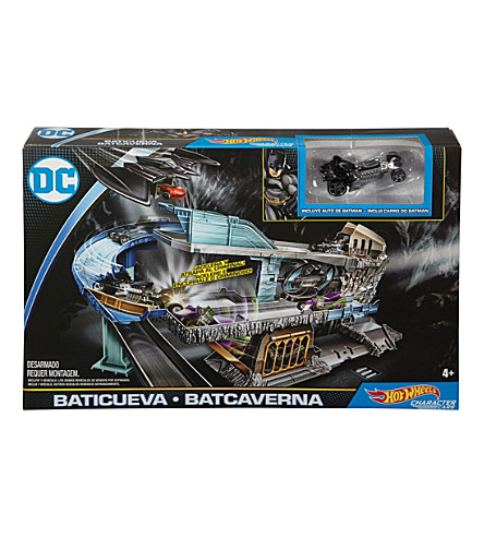 HOTWHEELS Batcave playset