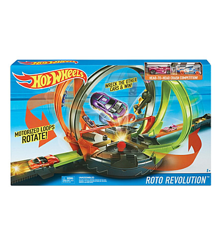 HOTWHEELS Roto Revolution track set