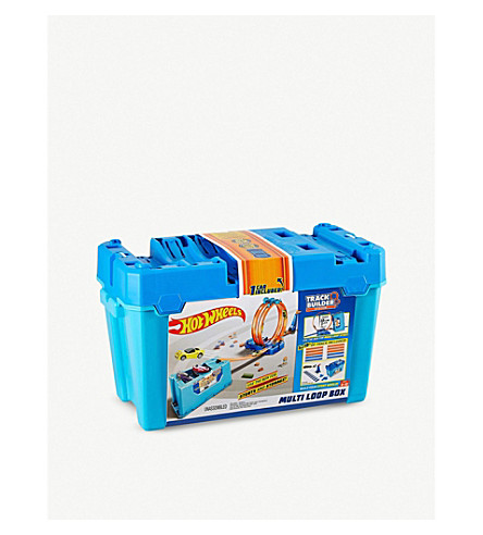 HOTWHEELS Track Builder Multi Loop box