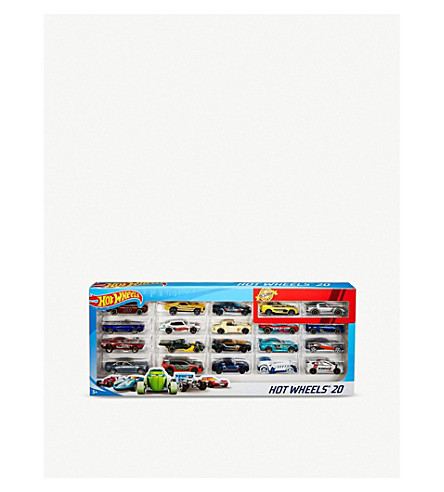 HOTWHEELS 20 pack model cars