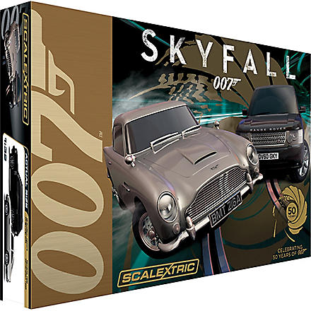SCALEXTRIC James Bond 007 Skyfall set