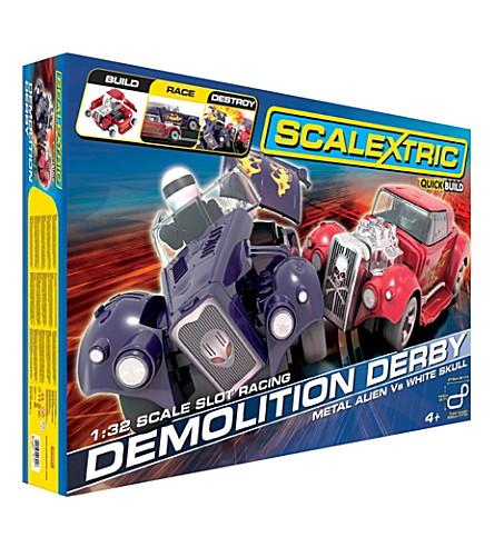 SCALEXTRIC Demolition Derby box set