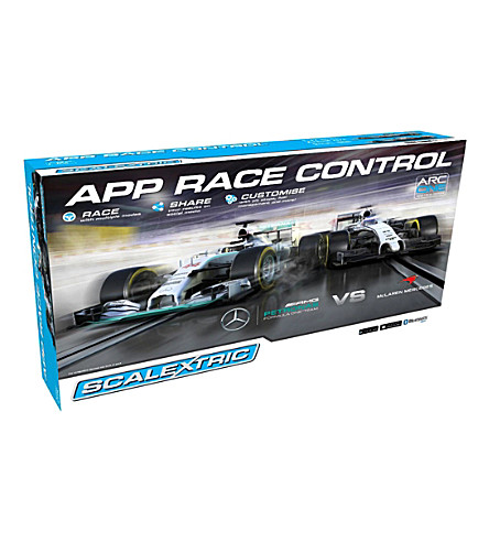 SCALEXTRIC Race Control Mercedes vs Mclaren set