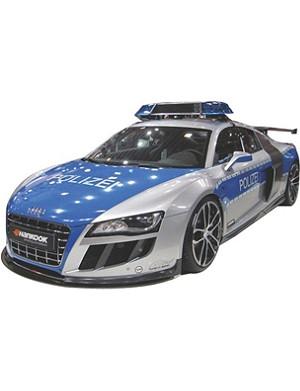 SCALEXTRIC Audi R8 police car