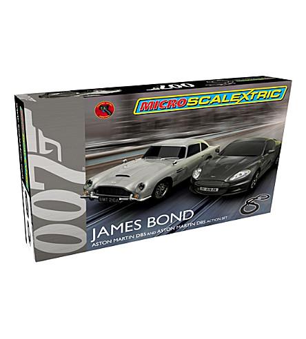 SCALEXTRIC Micro James Bond 007 Aston Martin action set