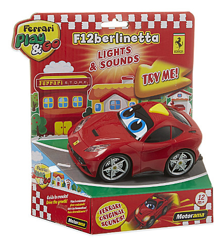 FERRARI Ferrari play&go lights & sounds Berlinetta