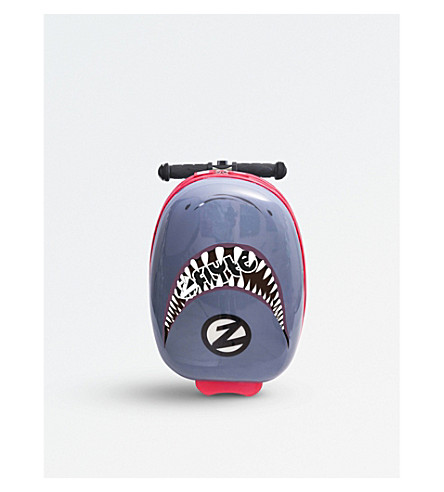 FLYTE Snapper the Shark scooter suitcase