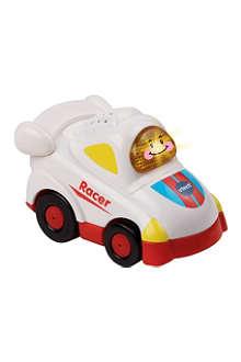 TOOT TOOT DRIVERS Toot-Toot Drivers white racer car