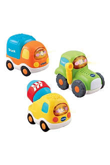 VTECH Set of three construction vehicles