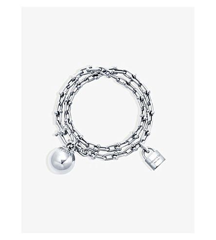 TIFFANY & CO Tiffany City HardWear sterling silver bracelet (Silver