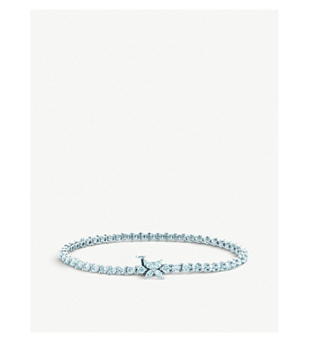 TIFFANY & CO Platinum diamond bracelet