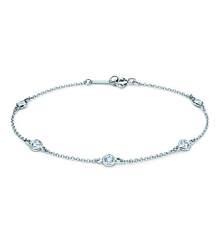 TIFFANY & CO Elsa Peretti® Diamonds by the Yard® bracelet in platinum