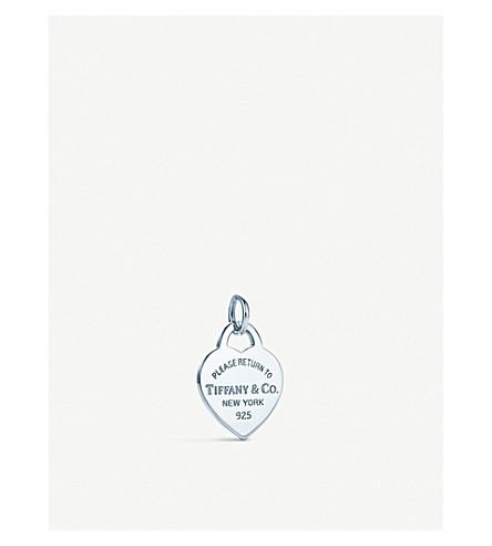 TIFFANY & CO Return to Tiffany heart tag sterling silver charm