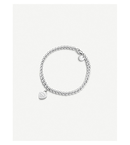 TIFFANY & CO Return to Tiffany's heart tag sterling silver bracelet